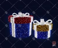 """Светодиодная 3D-композиция """"Подарки"""""""