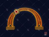 """Светодиодная арка """"Победа"""""""