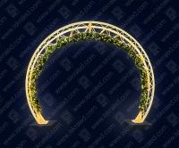 """Светодиодная арка """"Золотое кольцо"""""""