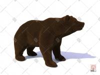 "Топиари ""Медведь"""