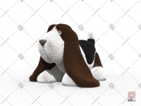 "Топиари ""Basset hound"""