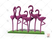 "Топиари композиция ""Фламинго"""