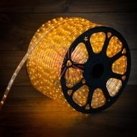 Дюралайт LED, постоянное свечение (2W) - желтый, 36 LED/м, бухта 100м Neon-Night