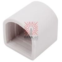 Заглушка для гибкого неона формы D 16х16 мм (цена за 1 шт.)