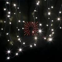 Гирлянда модульная  Дюраплей LED  12м  120 LED  черный каучук ТЕПЛЫЙ БЕЛЫЙ