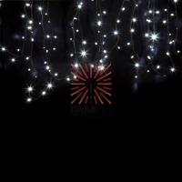 Гирлянда модульная «Дюраплей LED» 20 м, 200 LED, черный каучук, мерцающий Flashing (каждый 5-й диод) свечение белое