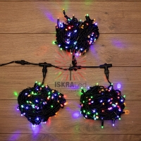 Гирлянда LED ClipLight 24V, 3 нити по 20 м, свечение с динамикой, цвет диодов Мульти