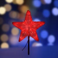 Акриловая светодиодная фигура Звезда 50см, 160 светодиодов, красная, NEON-NIGHT