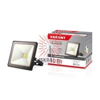 Прожектор светодиодный 10 Вт 200–260В IP65 800 лм 6500 K холодный свет REXANT