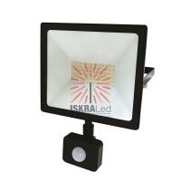 Прожектор светодиодный с датчиком движения 50 Вт 200–260В IP44 4000 лм 6500 K холодный свет REXANT