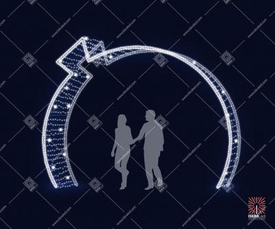 "Светодиодная арка ""Шар"""
