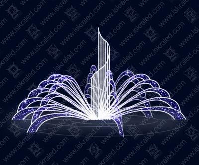 Светодиодный фонтан F105 (с контроллером)