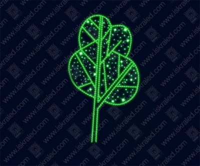 """Светодиодная 2D-фигура """"Символ леса"""""""