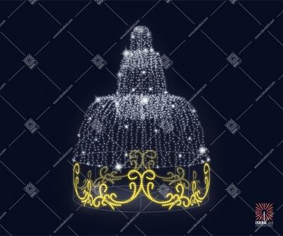 """Светодиодный фонтан """"Визави"""""""