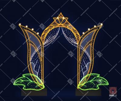"""Светодиодная арка """"Весенняя"""""""