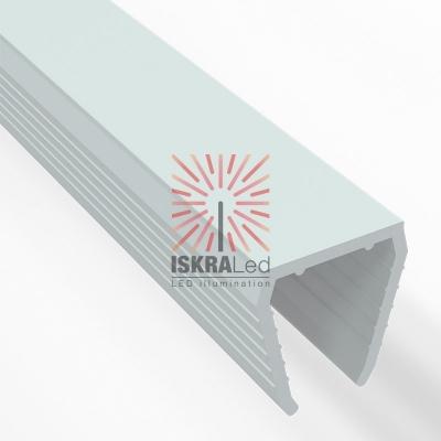 Короб пластиковый для гибкого неона 8х16 мм, длина 1 метр