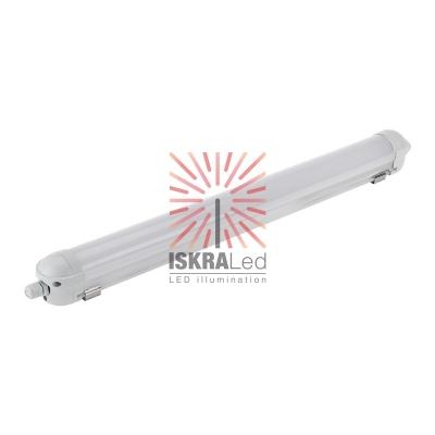 Светильник пылевлагозащищённый противоударный соединяемый ССП2-20 18Вт 200В-240В IP65 IK08/5 1530Лм 6500K холодный свет REXANT